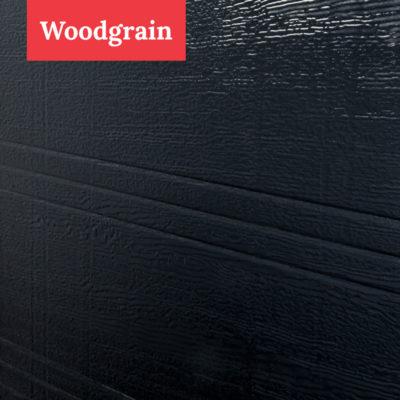 Garagedeuren met houtmotief