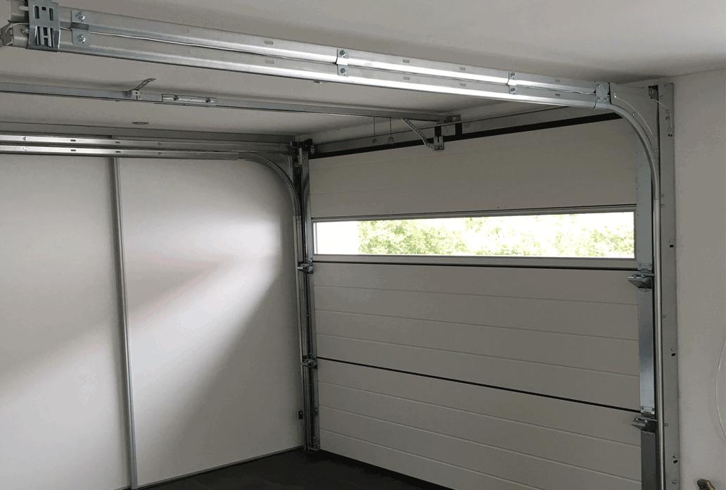 Garagedeur met raam