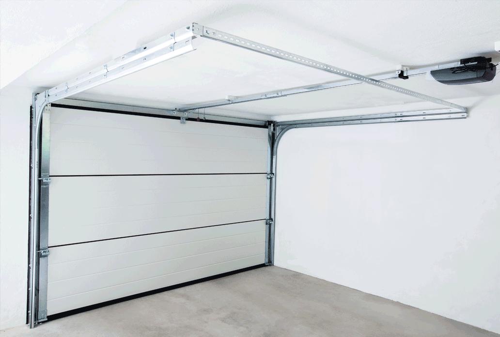 Binnenkant garagedeur