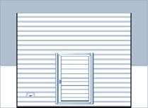 Sectionaaldeuren met ramen