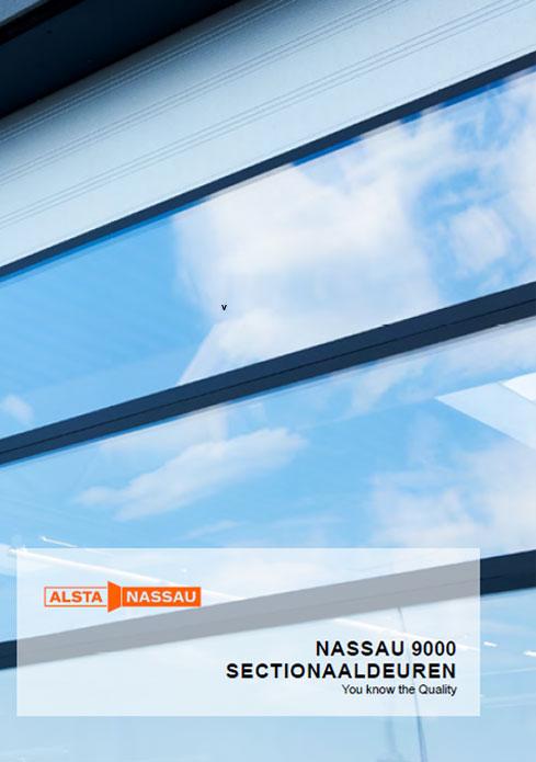 Alsta Nassau 9000 sectionaaldeuren