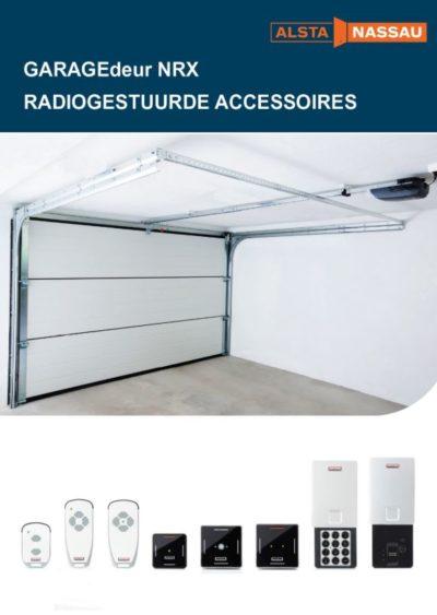 Accessoires voor de garagedeuren