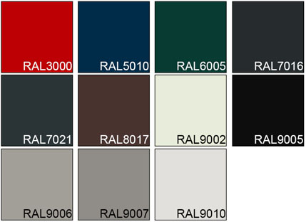 Garagedeur kleuren Classic